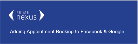 Adding Appointment Reminder to FB & Google